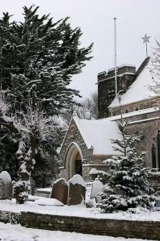 Winter church